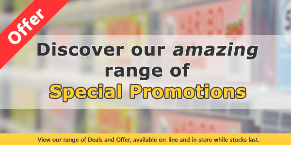 Discover our range of special wholesale promotions.